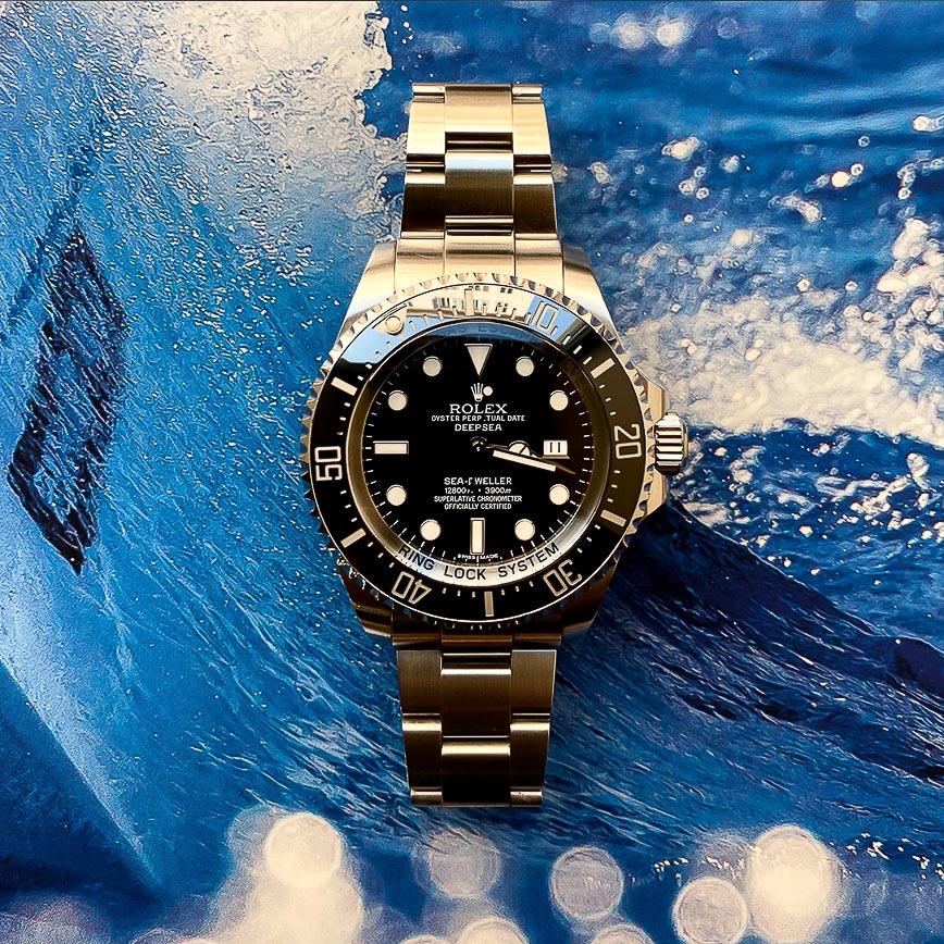 Montre homme Rolex Deepsea ref.116660 cadran noir - Corse, Paris