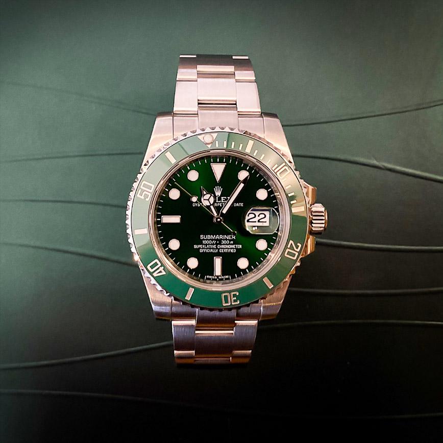 Montre homme Rolex Submariner Date Hulk ref.116610LV - Corse, Paris