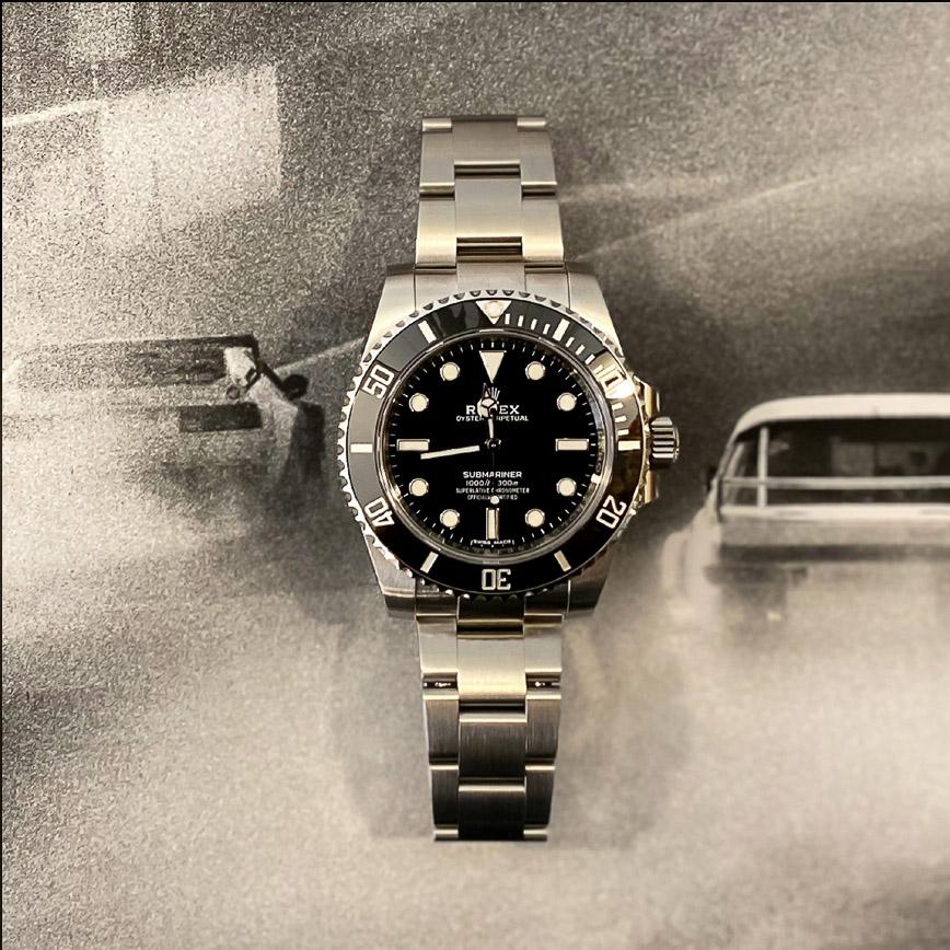 Montre homme Rolex Submariner No Date ref.114060 cadran noir - Corse, Paris