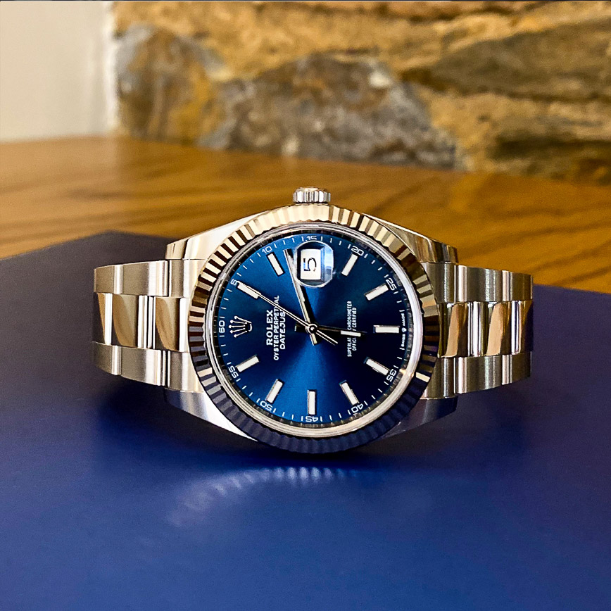 Rolex Datejust 2 ref.126334 cadran bleu - Bastia, Paris