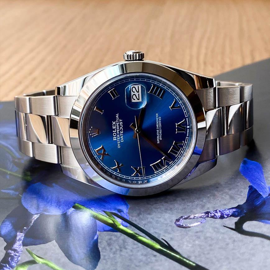 Rolex Datejust 2 ref.126300 cadran bleu Azzuro bracelet oyster - Bastia, Paris
