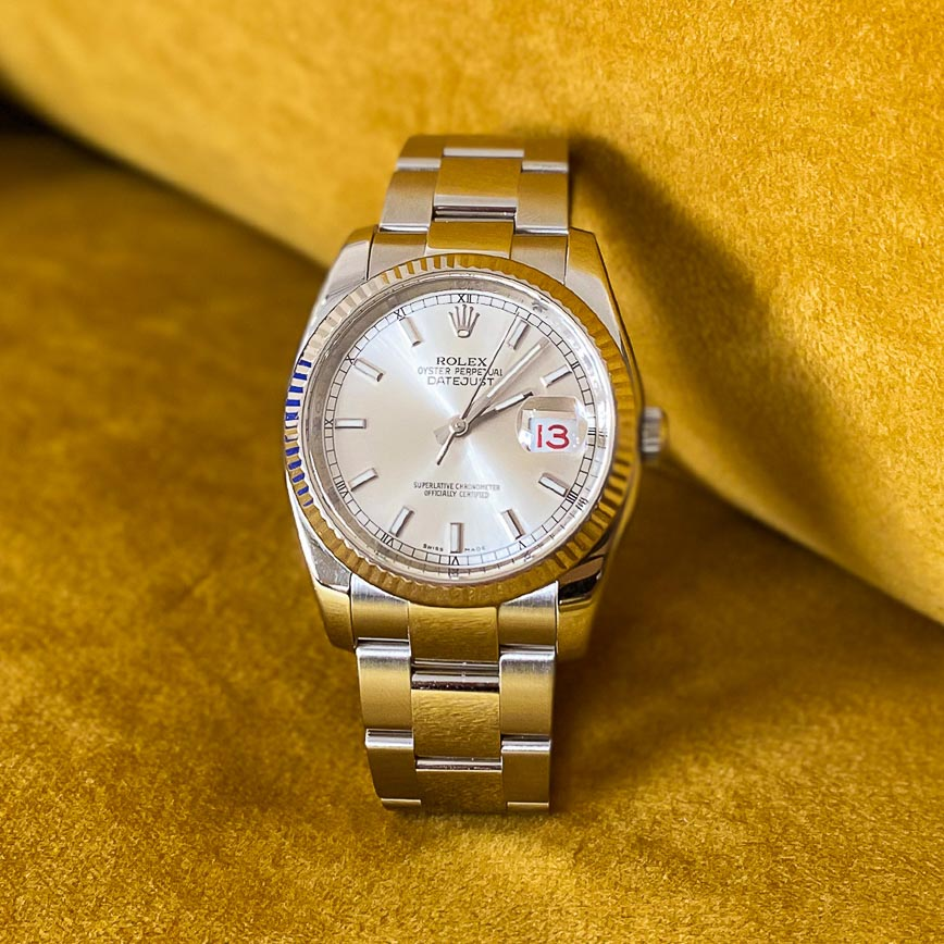 Rolex Datejust 36mm cadran silver ref.116234 - Bastia, Paris