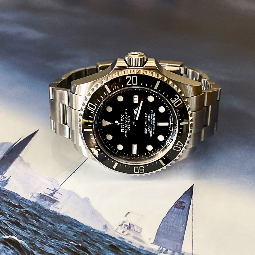 Rolex Deepsea ref.116660 cadran noir - Bastia, Paris