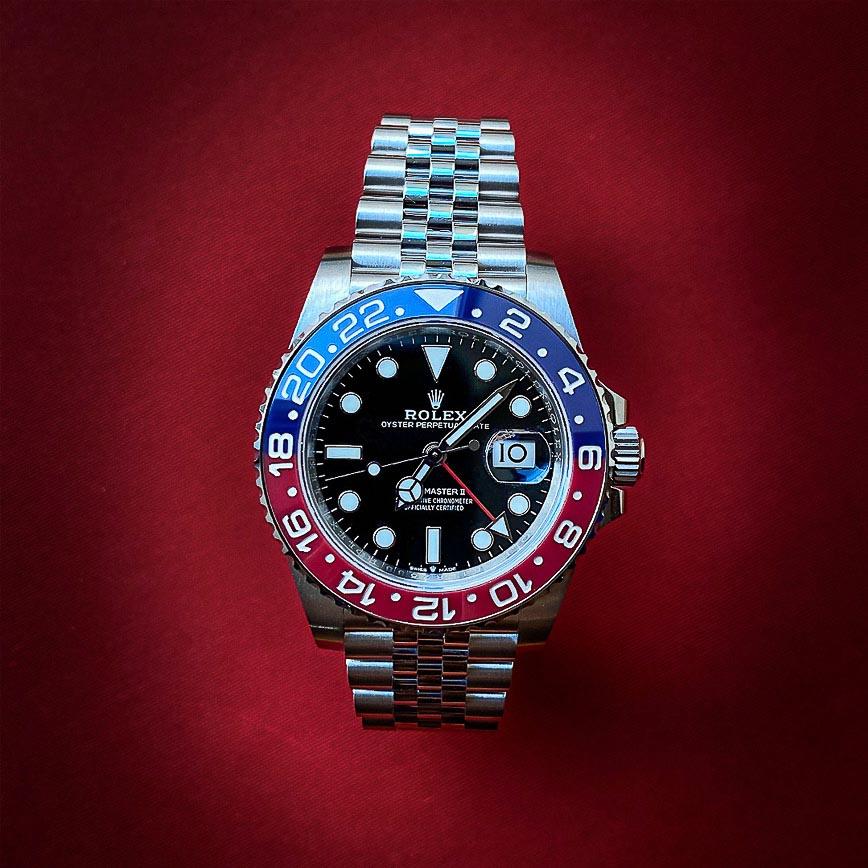 Rolex GMT Master 2 Pepsi ref 126710BLRO bracelet acier jubilé - Corse, Paris