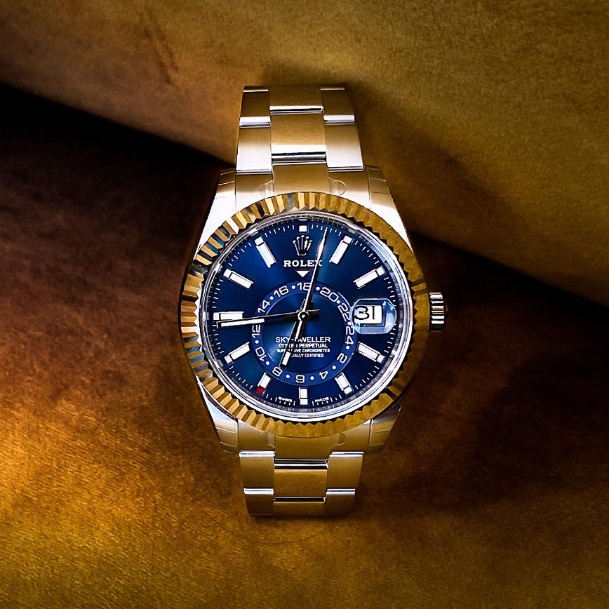 Rolex Sky-Dweller ref.326934 cadran bleu - Bastia, Paris