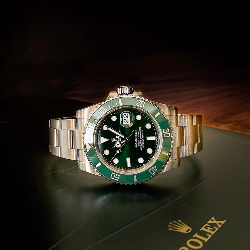 Rolex Submariner Date Hulk ref.116610LV - Bastia, Paris