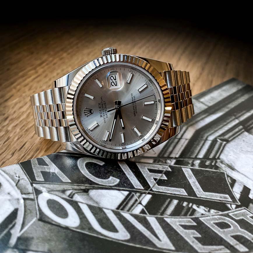 Montre homme Rolex Datejust 2 41mm cadran silver ref.126344 - Corse, Paris