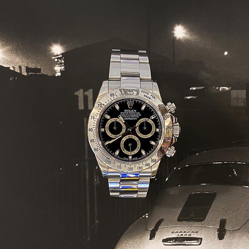Montre homme Rolex Daytona ref.116520 - Corse, Paris