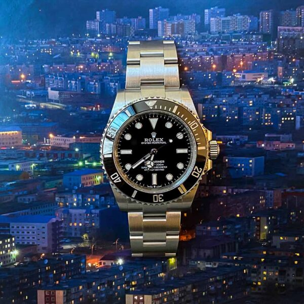 Montre homme Rolex Submariner No Date cadran noir ref.114060 - Corse, Paris