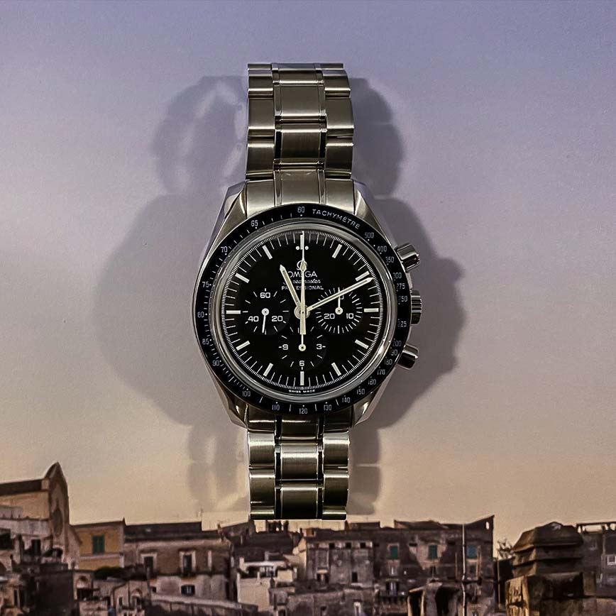 Omega Speedmaster Moonwatch Professional Chronographe - Bastia, Paris