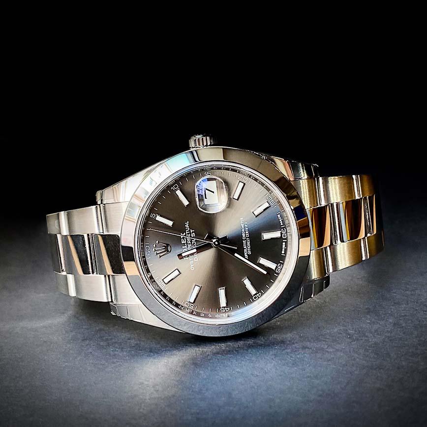 Montre homme Rolex Datejust 2 ref.126300 cadran rhodium - Corse, Paris