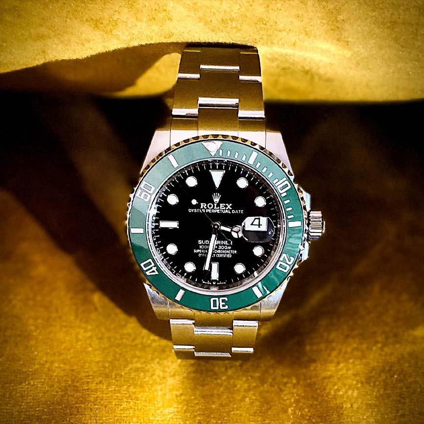 Montre homme Rolex Submariner Date Kermit ref.126610LV - Corse, Paris