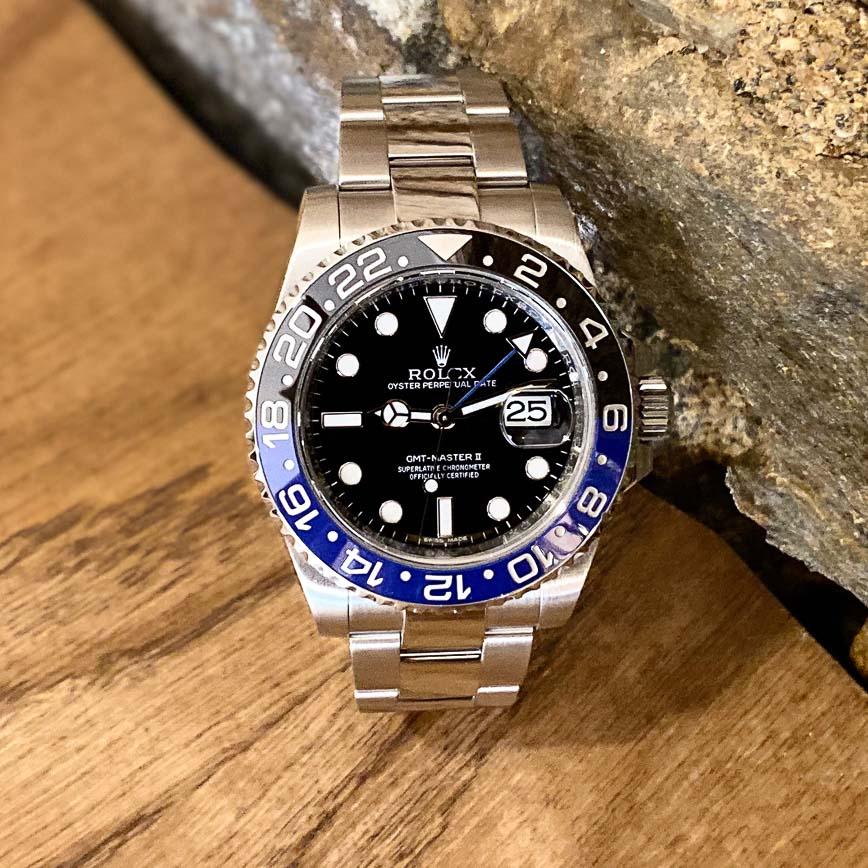 Rolex GMT Master 2 Batman ref.116710BLNR - Bastia, Paris