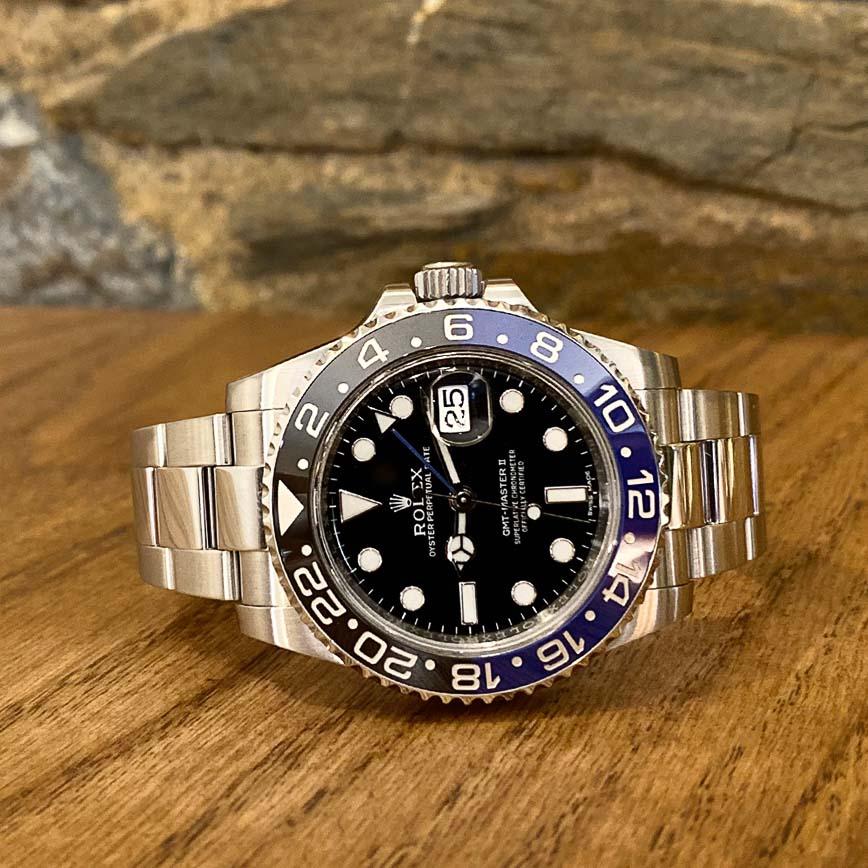 Montre homme Rolex GMT Master 2 Batman ref.116710BLNR - Corse, Paris