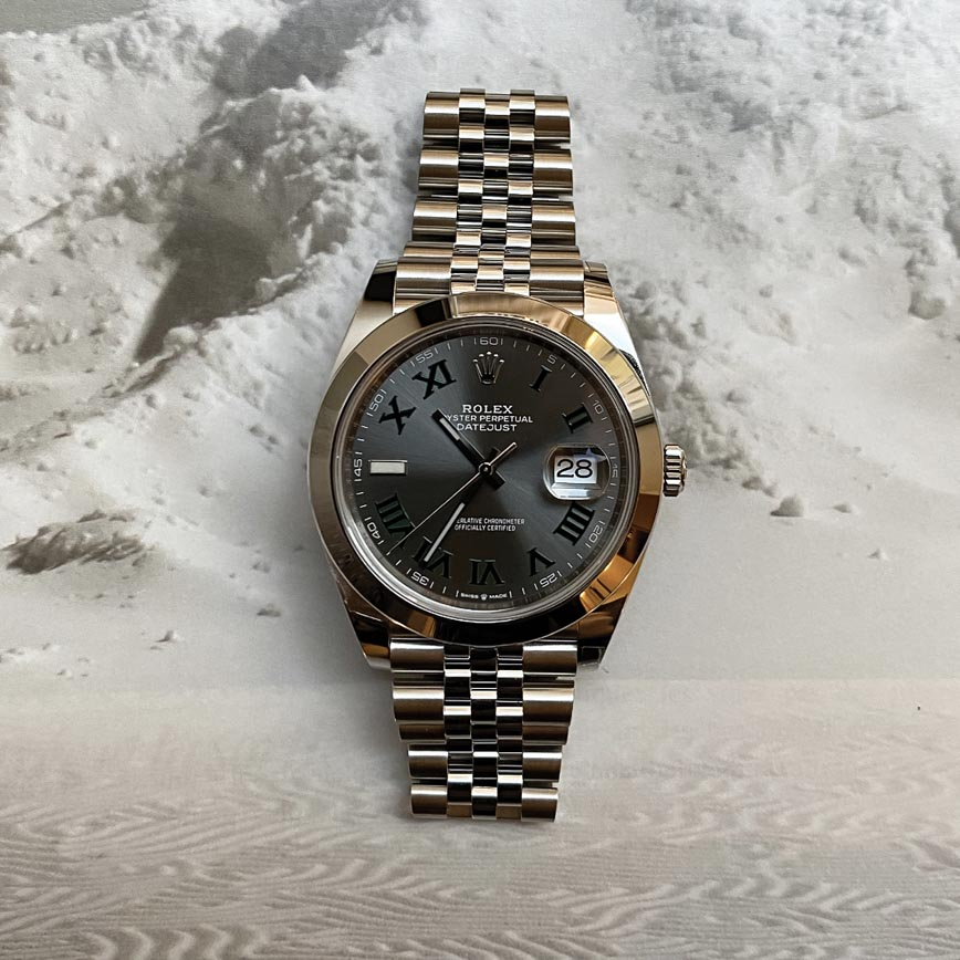 Rolex Datejust Wimbledon ref.126300 41mm bracelet jubilé - Bastia, Paris