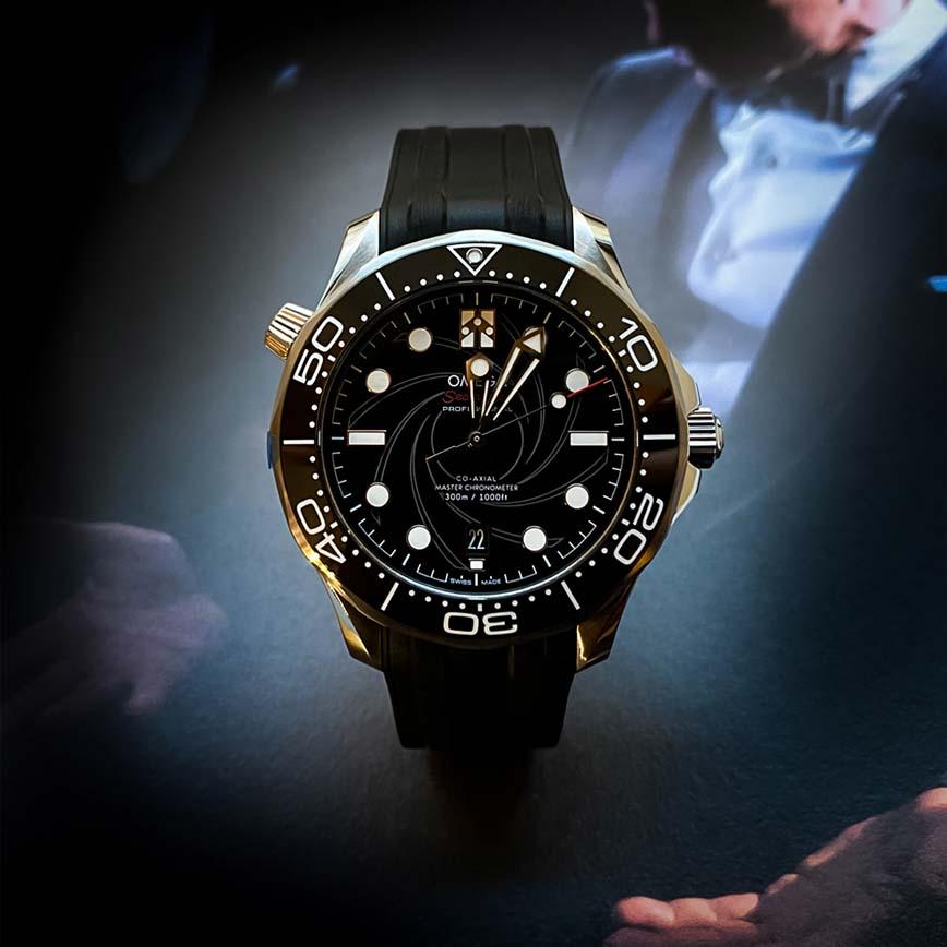 Montre homme Omega Seamaster Diver 300m Edition Limitée James Bond - Corse, ParisMontre Omega Seamaster Diver 300m Edition Limitée James Bond - Corse, Paris