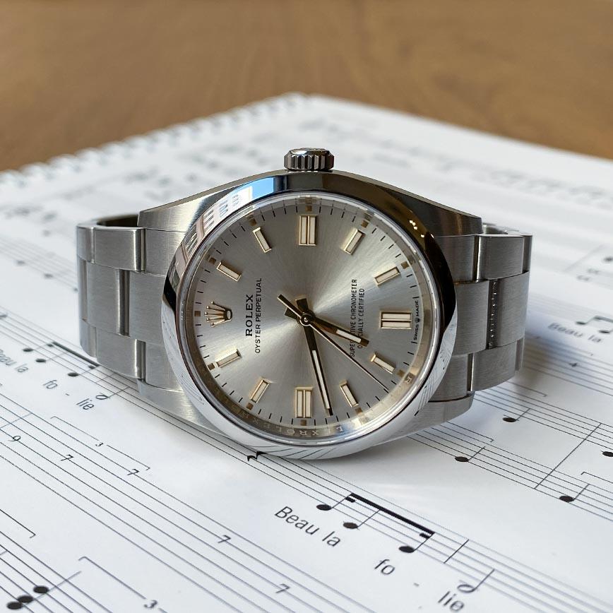 Montre homme Rolex Oyster Perpetual 36mm cadran silver ref.126000 - Corse, Paris