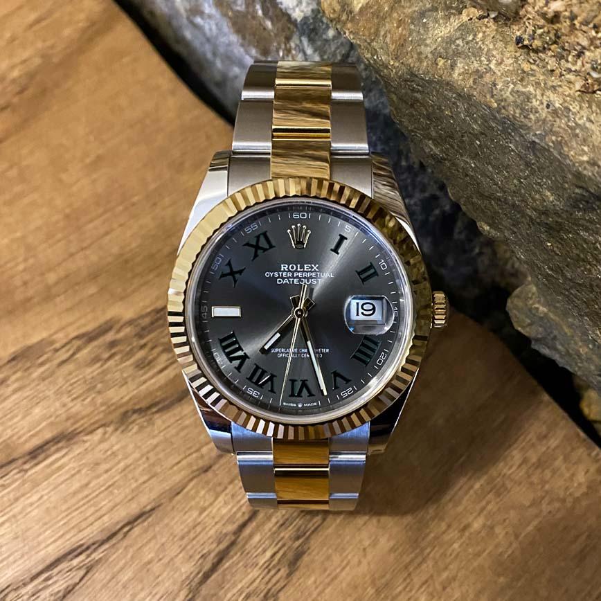 Rolex Datejust 2 Wimbledon 41mm or jaune et acier ref.126333 - Bastia, Paris
