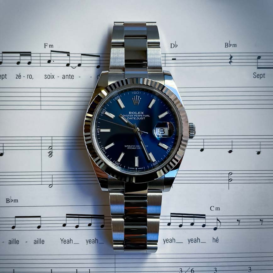 Rolex Datejust cadran bleu 41mm bracelet oyster ref.126334 - Bastia, Paris