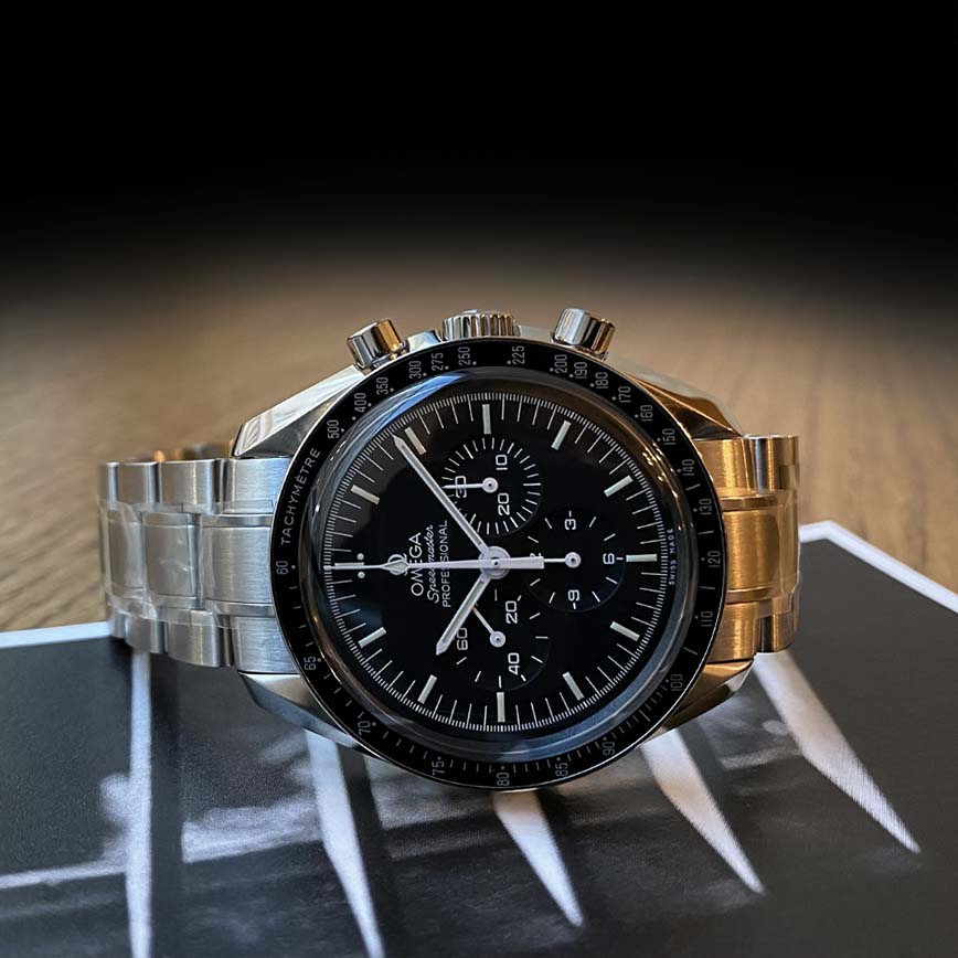 Montre homme Omega Speedmaster Moonwatch Professional acier - Corse, Paris