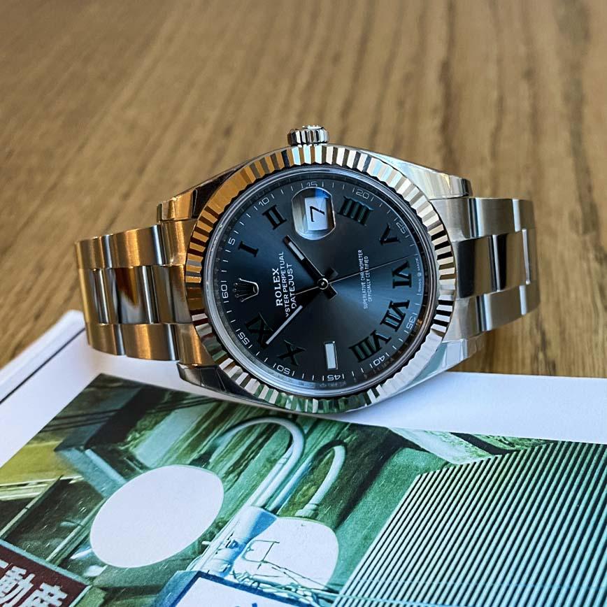 Montre homme Rolex Datejust 41mm Wimbledon ref.126334 bracelet oyster - Corse, Paris