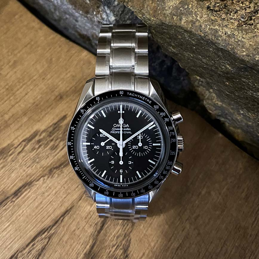 Omega Speedmaster Moonwatch Professional acier - Bastia, Paris