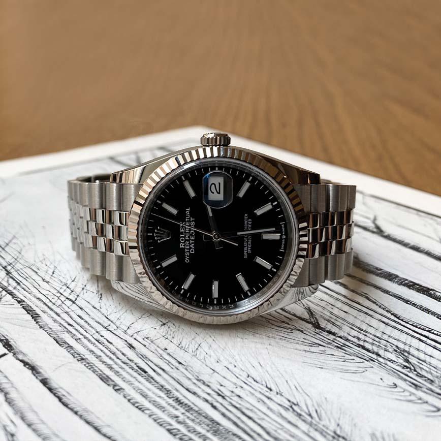 Rolex Datejust cadran noir bracelet jubilé ref.126334 - Bastia, Paris