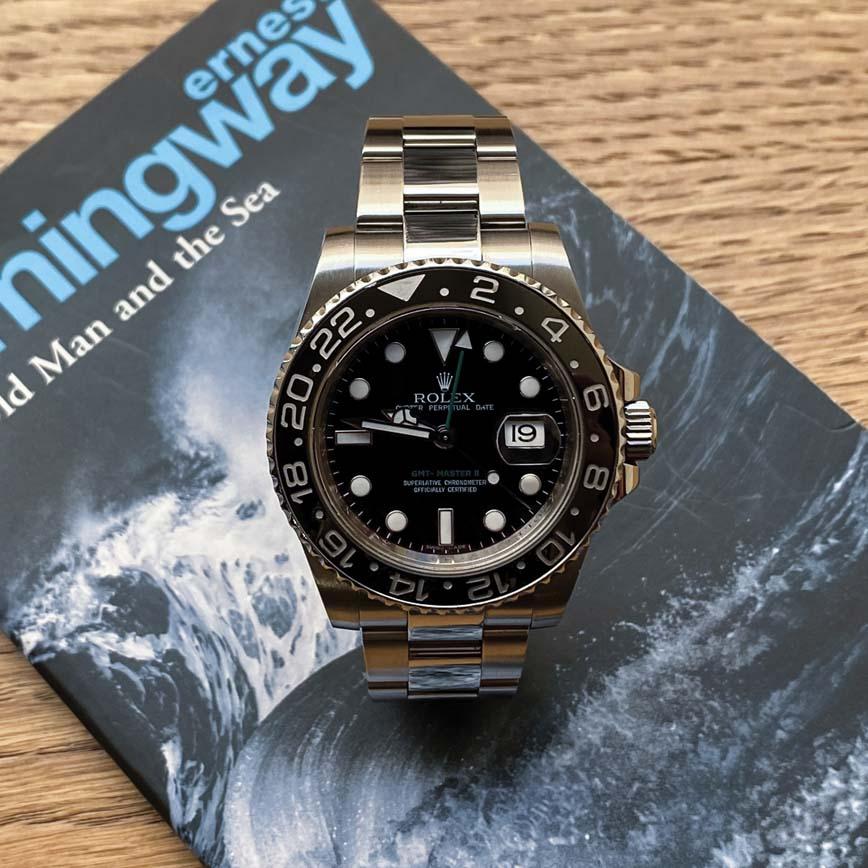Rolex GMT Master II cadran noir ref.116710LN - Bastia, Paris
