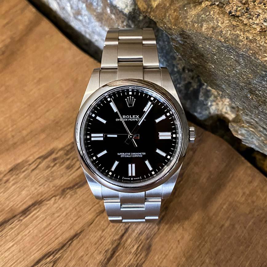 Rolex Oyster Perpetual 41mm cadran noir ref.124300 - Bastia, Paris