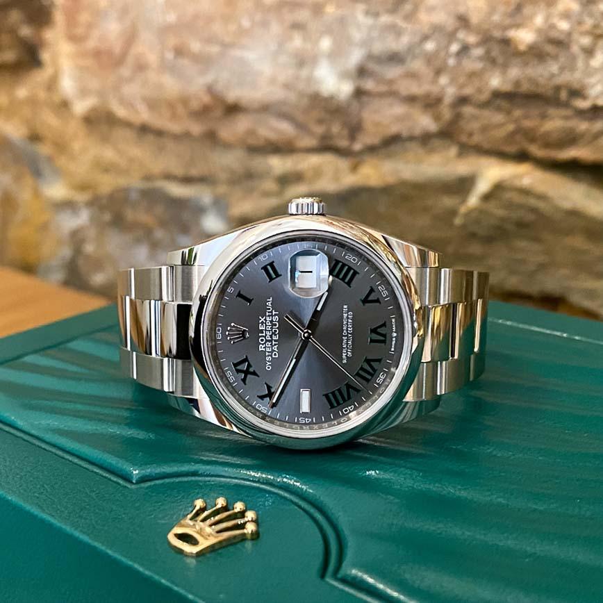 Montre Rolex Datejust Wimbledon 36mm ref.126200 - Corse, Paris