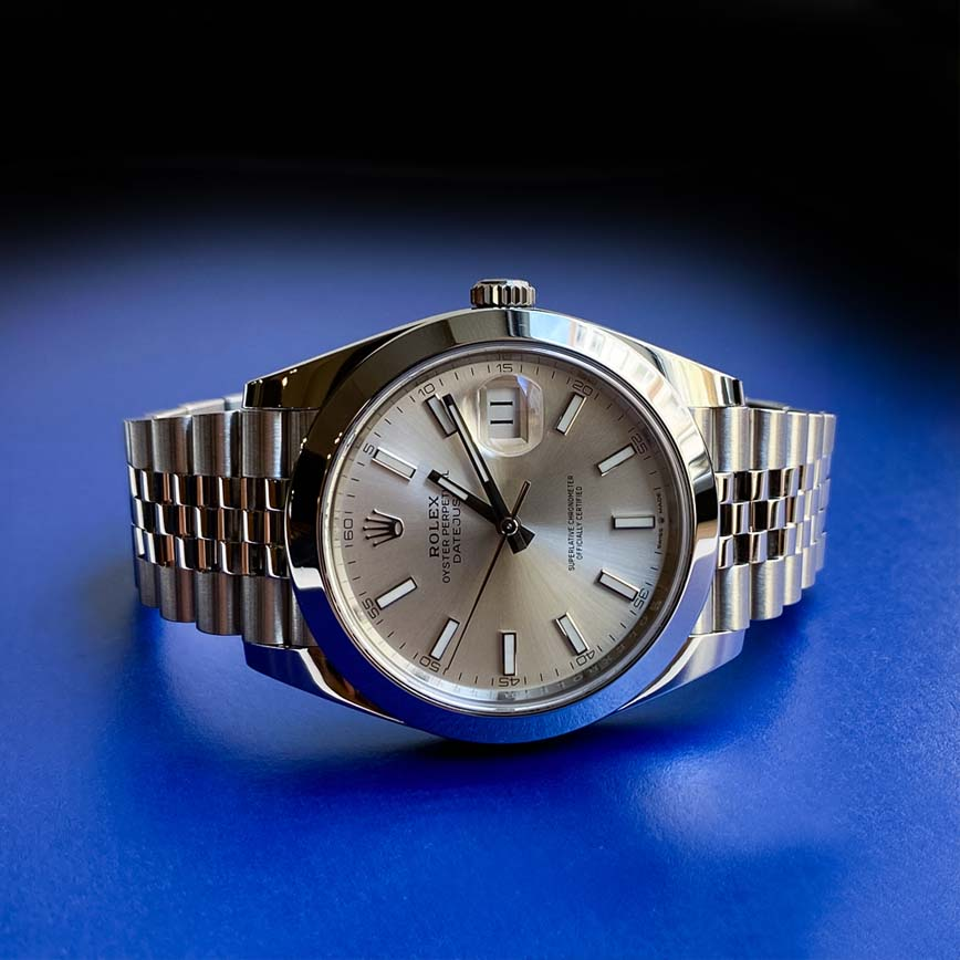 Montre homme Rolex Datejust 41 mm cadran silver et bracelet jubilé ref.126300 - Corse,Paris