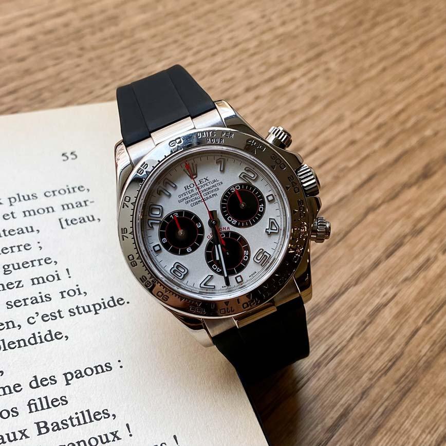 Montre homme Rolex Daytona Panda or blanc ref.116519 - Corse, Paris