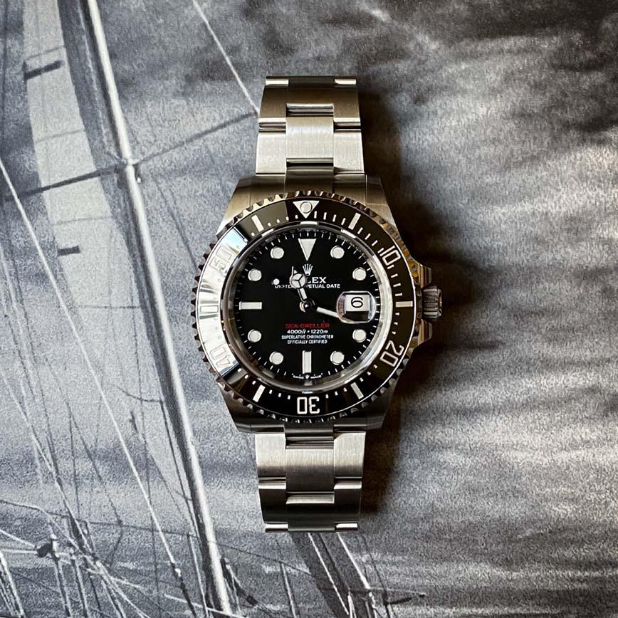 Rolex Sea-Dweller rouge ref.126600 - Bastia, Paris